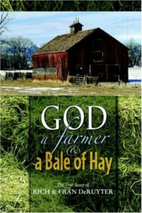 God a Farmer and a bale of hay book