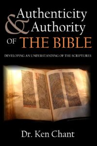 Authenticity & Authority of the Bible